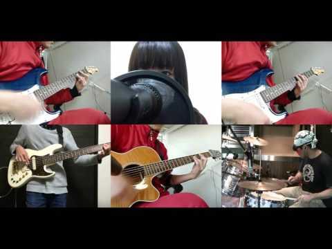 [HD]Fuuka ED [Watashi no Sekai] Band cover