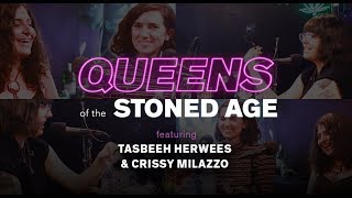 Writers Crissy Milazzo & Tasbeeh Herwees Talk Social Media Anxiety | QUEENS OF THE STONED AGE