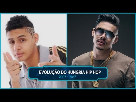 Evolução do Hungria Hip Hop  -