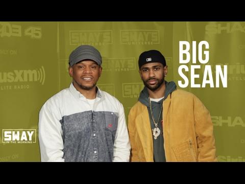 Big Sean Judges Rising Rapper Oswin Benjamin Live On-Air