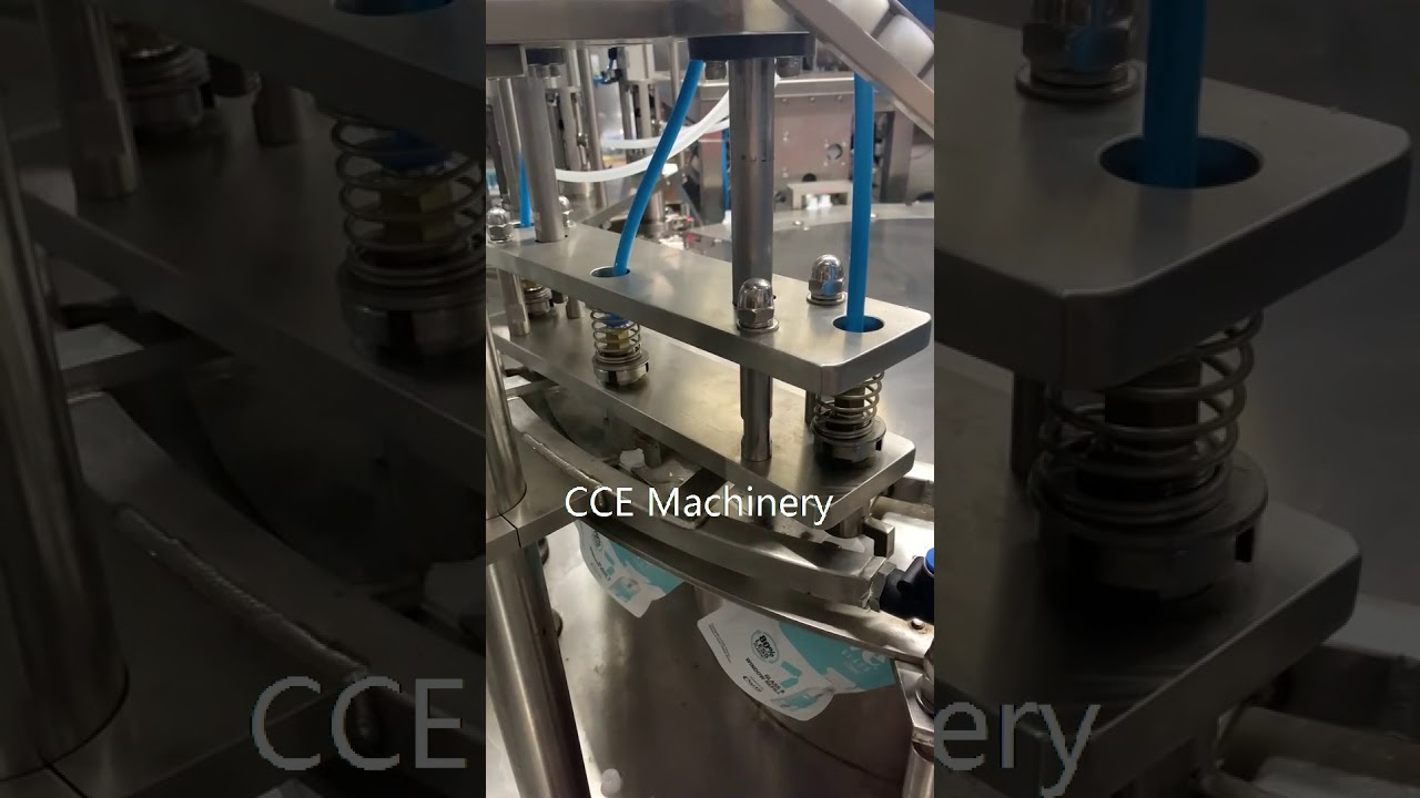 Automatic stand-up pouch filling and capping machine 、Washing liquid filling capping machine自立袋灌装旋盖机