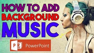 How to add Background Music in Powerpoint? #QuickTip03