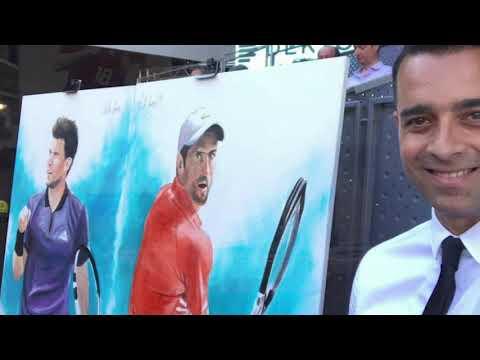 Comarca No Te Escondas entrevista a Víctor Jerez: El pintor de los deportistas