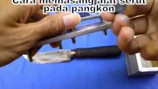 Alat Serut Jeruji Sangkar Full Set dan cara pasang pisau serutnya