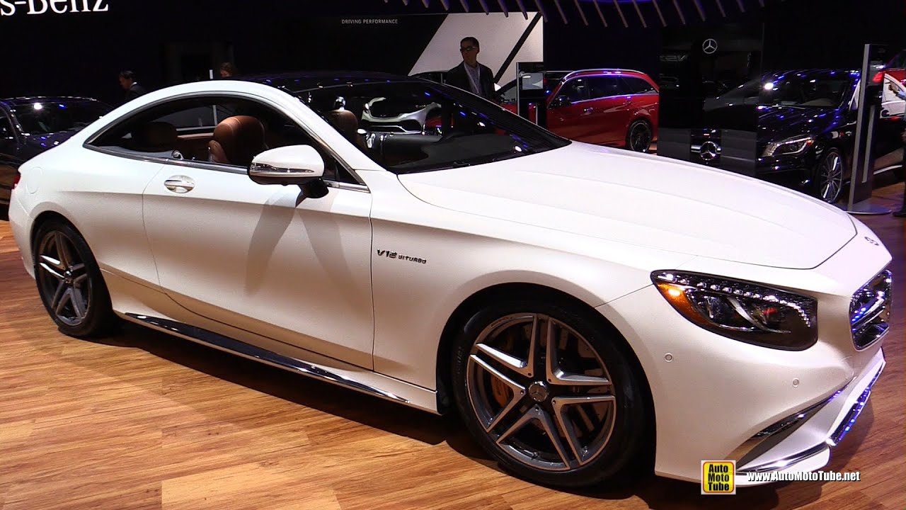 2015 mercedes benz s65 amg coupe v12 biturbo exterior interior walkaround 2015 ny auto show. Black Bedroom Furniture Sets. Home Design Ideas