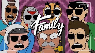 Video Vanoss Crew - Team 6 Rap (Family Mix Edit) (Lyrics) download MP3, 3GP, MP4, WEBM, AVI, FLV November 2018