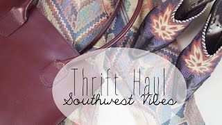 Thrift Haul | Southwest Vibes Thumbnail