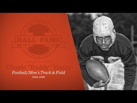 """Illinois Athletics Hall of Fame - Claude """"Buddy"""" Young"""