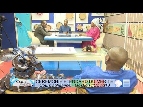 TELE ECOLE : Cours Solidaires Remise de l'étendard du Mérite