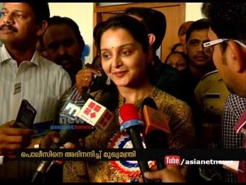 Manju Warrier 's response on Pulsar Suni arrested from Kochi court premises