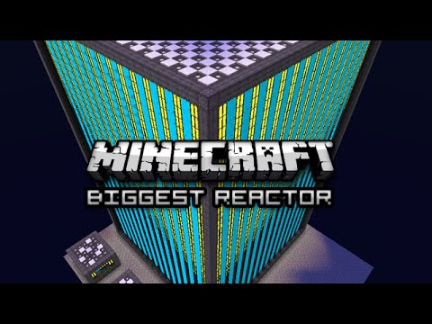 Minecraft: BIG REACTORS MAXED OUT