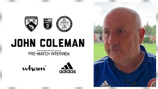 INTERVIEW: Coley hoping to keep up strong record at Morecambe