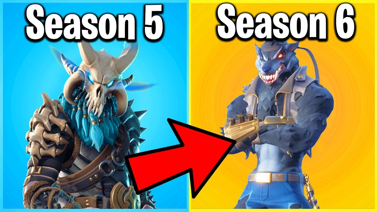 RANKING EVERY SEASON 6 FORTNITE SKIN FROM WORST TO BEST! (Season 6 Battle Pass)