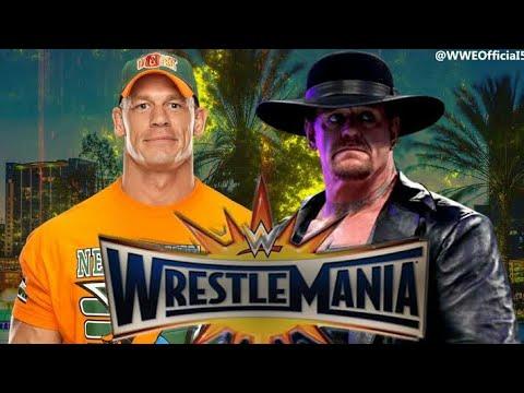 Download Wwe wrestlemania 34 || 8 April 2018 || the undertaker vs John Cena full match