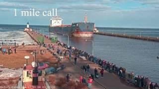 Algoma Spirit arrived Duluth 03/30/2019