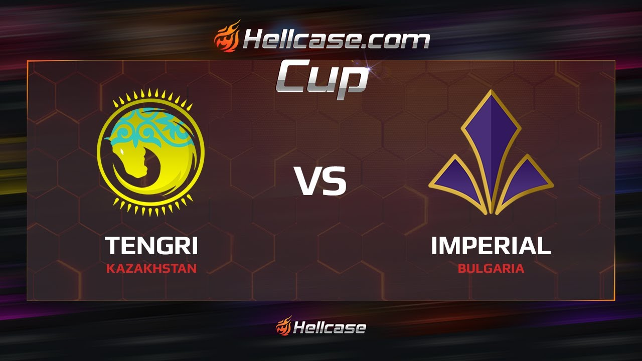 [EN] Tengri vs Imperial, map 1 cobblestone, Hellcase Cup Season 5