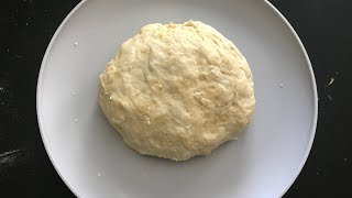 How to make 5-INGREDIENT HOMEMADE pizza dough (Simple, Delicious, and Easy!!!)