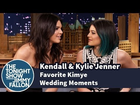 Kendall & Kylie Jenner Share Their Favorite Kimye Wedding Moments