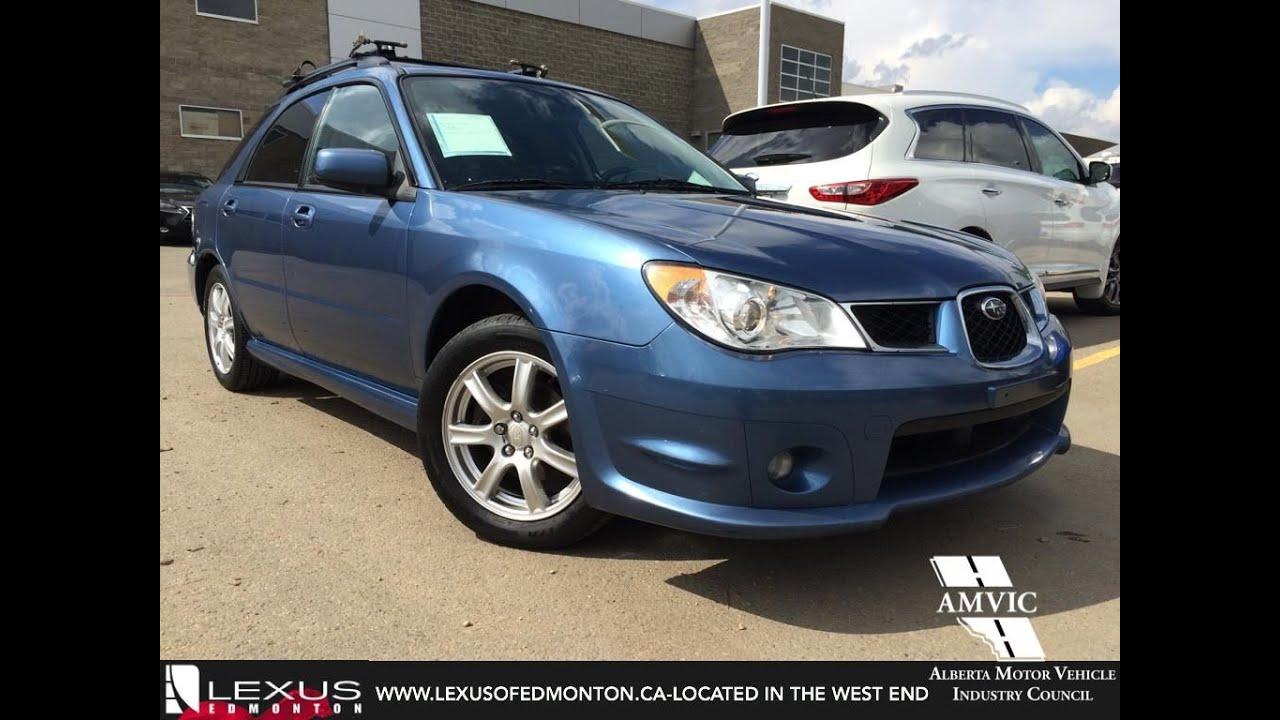used 2007 blue subaru impreza auto 2.5i walkaround review   slave