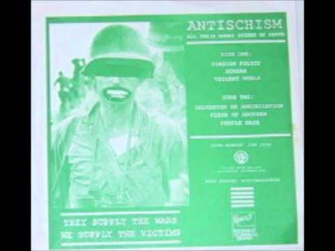 Antischism - All Their Money Stinks of Death E.P. Lyrics