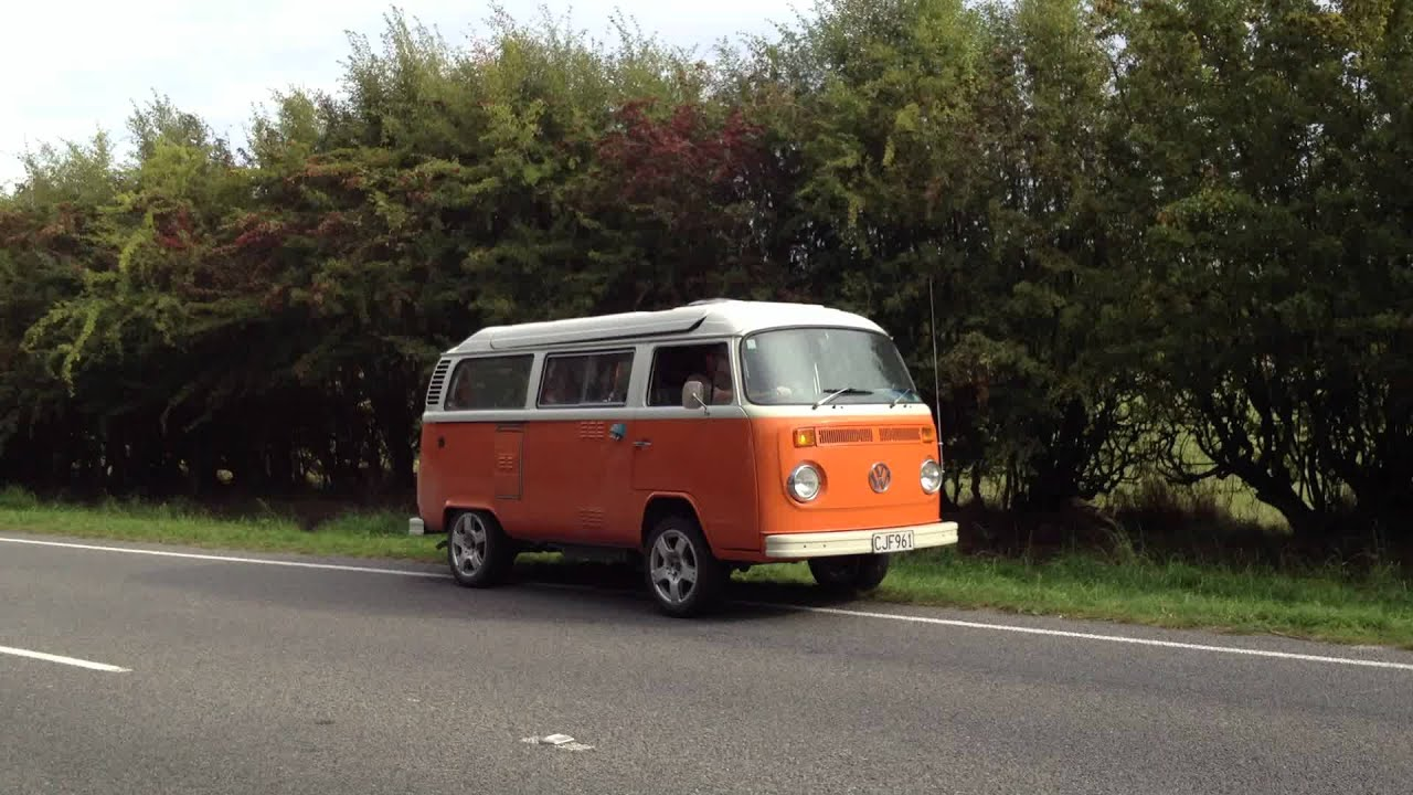 VW Kombi With Subaru EZ30 H6 Engine And 5 Speed Gearbox 0 100 From Outside