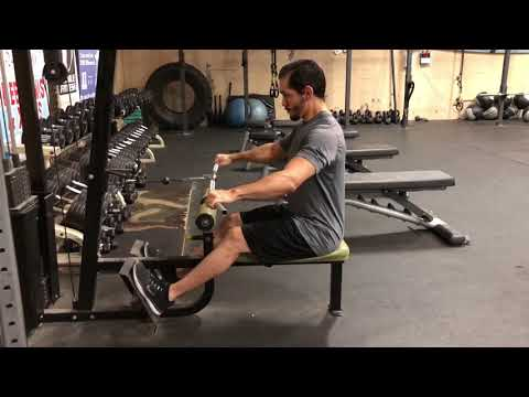 Seated Wide-grip Cable Row