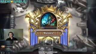 Hearthstone || Thrall 1 vs 1 Uther Lightbringer - Rlevvv Gaming