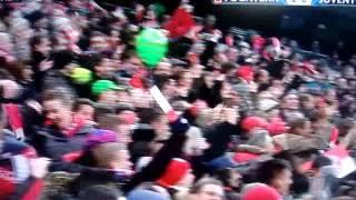 Fc Bayern - Juventus Turin das 1:0 durch David Alaba (Live Kommentar Sky)