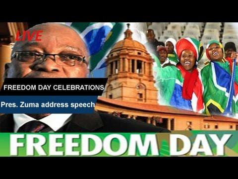 Freedom Day Celebrations, Manguzi-KZN: 27 April 2017