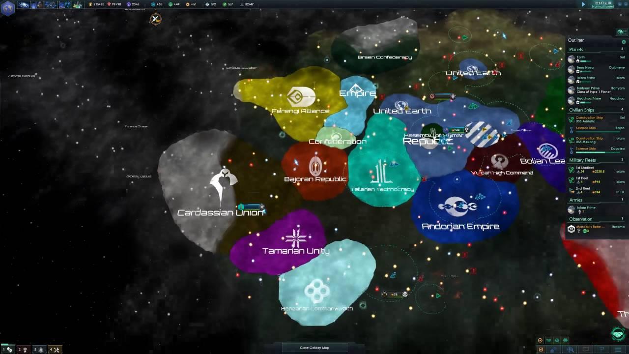 stellaris star trek mod