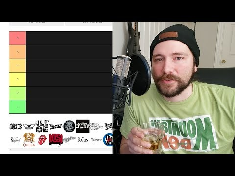 classic rock tier list  Mike The  Snob