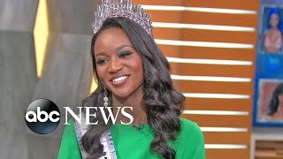 Miss USA Deshauna Barber Visits 'GMA'