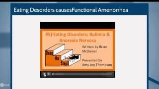 A Genetic basis for functional Hypothalamic Amenorrhea