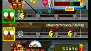 Donkey Konga 2- Donkey Konga 2 Theme (Monkey) *duet*