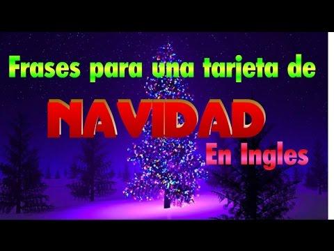 Frases para una tarjeta de navidad en ingles youtube - Felicitaciones navidad bonitas ...
