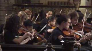 "Brooklyn Symphony Youth Orchestra plays ""Arabian Dreams"""