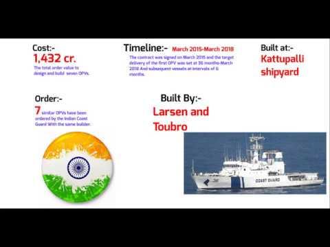 Vikram-India first offshore Patrol Vessel