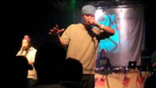 2009年4月に行われたKobeHipHopFestivalにて韻シストの3MC'sとDJ Mr.Fl...
