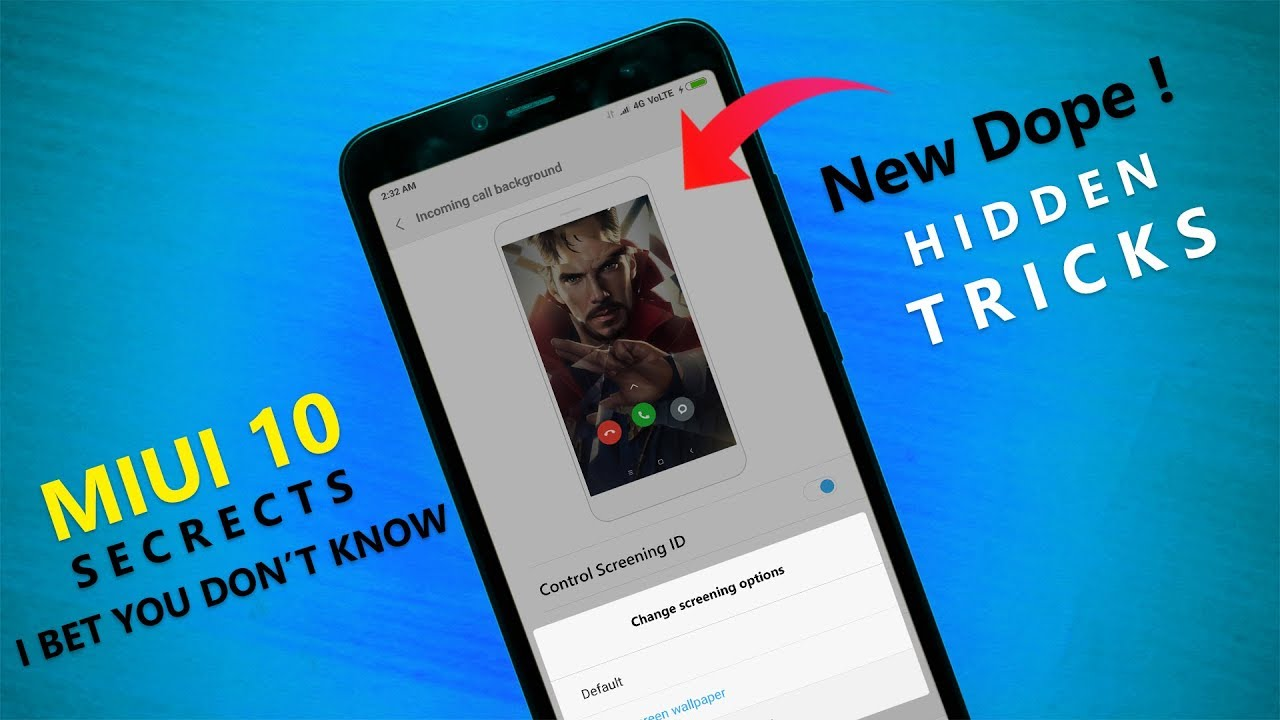 Supreme MIUI 10 Newborn Hidden Tricks For All Xiaomi Devices | I Bet You  Don't Know by TipTopTech