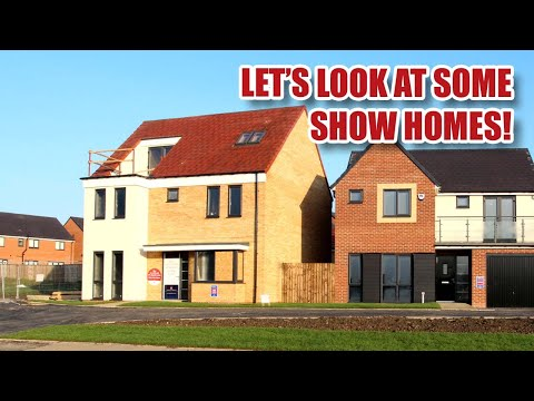 How Are New Houses In The UK Built? Looking At Showhomes!