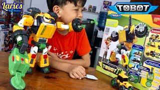 Tobot T Terracle Keren Ada Alat Pendeteksinya 😱😱😱 Seperti Aslinya di Film