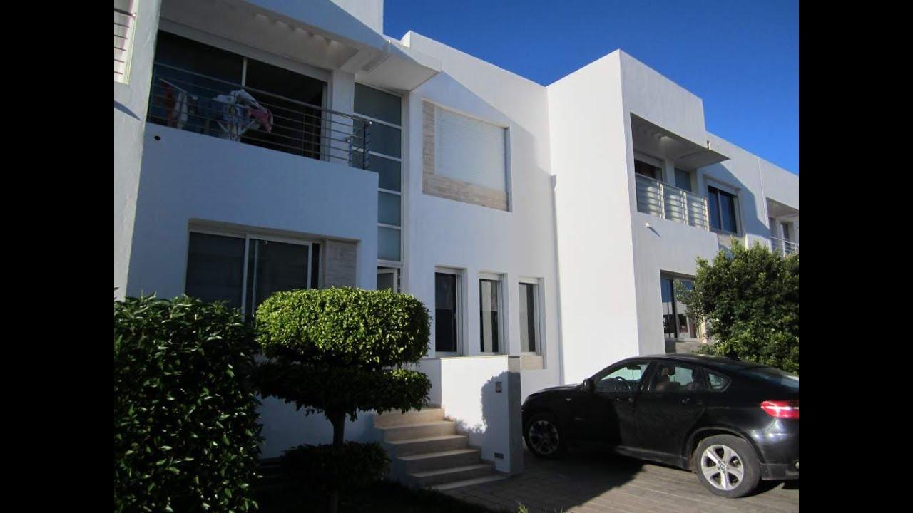Superbe Villa de 279 m² de terrain, à vendre, à dar Bouazza - YouTube