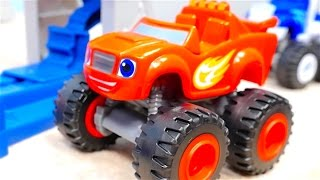Blaze and the Monster Machines toys - Race tracks for kids - Big trucks - Monster trucks for kids