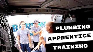 Inspiring Plumbing Apprentices On The Job Training