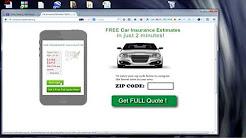Instant Car Insurance Calculator