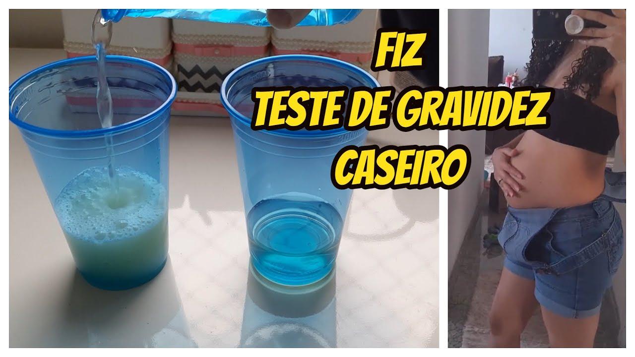 Fiz Teste Caseiro de Gravidez - Minha Hérnia Umbilical - Barriga Gigante   Iris Bihum
