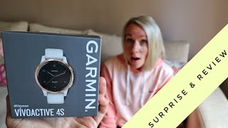 I SUPRISED her with the Garmin Vivoactive 4S