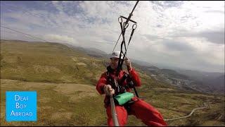 Zip Wire Zip world Titan Blaenau Ffestiniog / Mount Snowdon - Wales