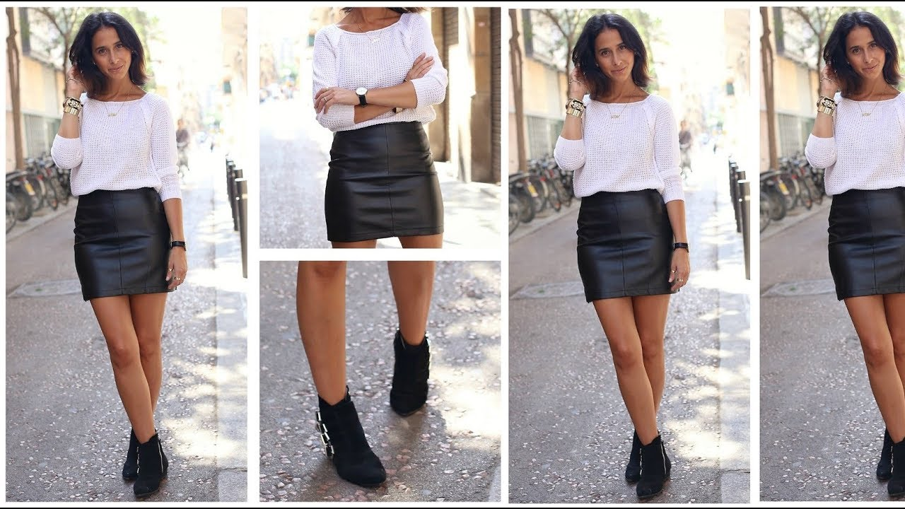 How to ankle wear booties with skirts photos