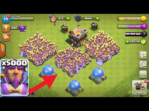 Thumbnail: 5000 Grand Warden Attack on | COC PRIVATE SERVER